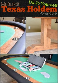 FREE DIY Texas Holdem poker Table