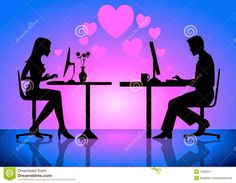 Blog da Beki Bassan - Reflexões: Vivendo Um Amor Virtual