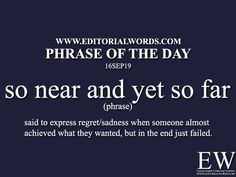 Phrase of the - Editorial Words Advanced English Vocabulary, Learn English Grammar, Learn English Words, English Language Learning, English Sentences, English Phrases, English Idioms, English Vinglish, Good Vocabulary Words