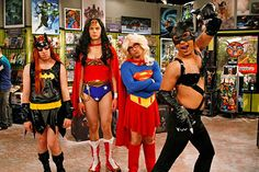 Hehe.  Such a funny episode!!  Big Bang Theory.