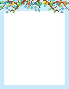 Use The Contemporary, Eye Catching Boho Birds Design To Promote Your  Classroom Theme! Use This Computer Paper To Liven Up Projects, Writing  Assignments, ...  Design Paper For Writing