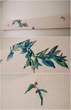 stephanie k. clark embroidered image