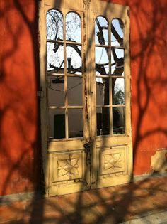 decoración vintage, antiguitats-baraturantic: antiguas puertas decorativas con espejos