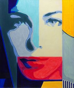 """Saatchi Art Artist Damian Cosma; Painting, """"Weird Science"""" #red #yellow #blue #women #art #modern #painting #design #fashion #style #saatchiart #london #nyc #paris #tokyo #interior #acrylic #hollywood #contemporary #amazing #new #homedesign #gallery #love #poster #damiancosma #face #beautiful #good #gallery #creative #photo #artist #graphic #women #popart #pink #blue #power #mind #miracle #color #portait"""