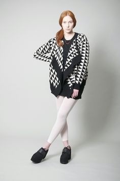 CARDIGAN-TRIANGULOS, WAS € 195,- via potipoti. Click on the image to see more!