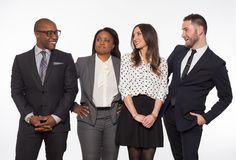 group portrait of Corey Damen Jenkins with his team  Interior Designer