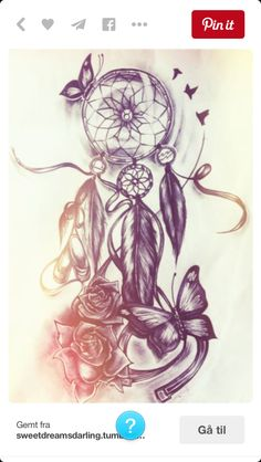When it comes to tattoos for women, Dreamcatcher tattoo designs are second to none. Continue reading to find out some of the most loved and best dreamcatcher tattoo designs. Atrapasueños Tattoo, Tattoos Masculinas, Tattoo Bein, Best Sleeve Tattoos, Tatoo Art, Trendy Tattoos, Body Art Tattoos, Tattoo Drawings, Tattoo Quotes