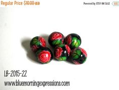 On #Sale #PolymerClay Beads Polymer Beads Beads by #polymerclaybeads @julielcleveland