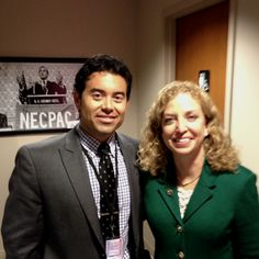 Congresswoman Debbie Wasserman Schultz, Chairwoman of DNC and advocate for the other side here in the Republican Primary.