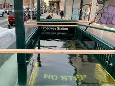 How the New York City Subway Is Preparing for Climate Change Metropolitan Transportation Authority, Flood Barrier, Jose Martinez, Wall Of Water, Engineering Companies, Storm Surge, Sea Level Rise, Environmental Health, Greenhouse Gases