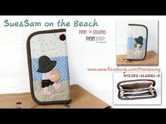 Cartera Sue&Sam en la playa