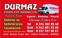 Bursa evden eve nakliyat fiyatları ücretleri http://www.durmazevdeneve.com/index.html
