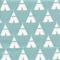 Tee Pee Canal Twill Novelty Drapery Fabric by Premier Prints