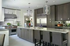 5 Beautiful Tips AND Tricks: Kitchen Remodel Gray Butcher Blocks kitchen remodel ideas before and after.Kitchen Remodel Ideas On A Budget kitchen remodel design budget. Ranch Kitchen Remodel, Budget Kitchen Remodel, Small Kitchen Cabinets, Narrow Kitchen, Ikea Kitchen, Küchen Design, Interior Design, Design Ideas, Designer