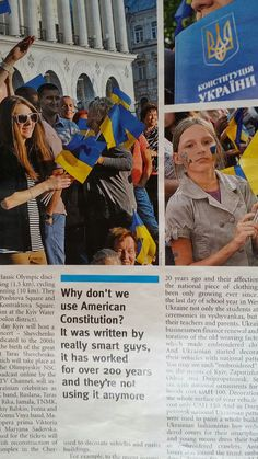 """Ukrainian journalist: """"Let's borrow from the US Constitution, they're not using it anymore"""""""