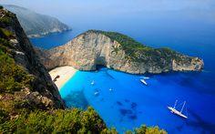 Shipwreck beach - Zakynthos, Greece