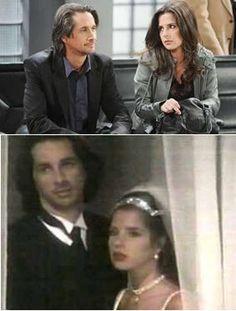 """John & Sam (""""General Hospital)   Caleb & Livvie (""""Port Charles: Tainted Love"""")"""