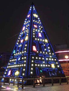 Geek Christmas tree.