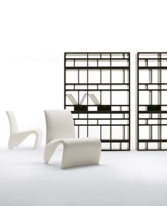 Open bookcase with drawers BABELE - Pacini & Cappellini