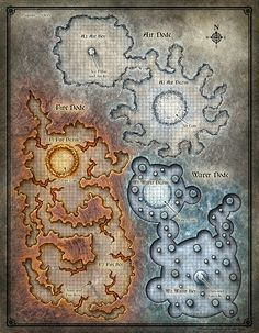 Dead in Thay; Bloodgate Keep Map 1 (Digital DM & Player Versions) $1.75