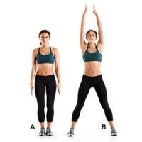 Body weight workout for vaca