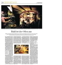 Report on an old-school local pub in Rommelshausen, close to Stuttgart (2012)