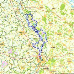 Fietsroute NS route Blerick - Bergen - Blerick voor een gezellig dagje uit. (http://www.route.nl/fietsroute/185560/ns-route-blerick-bergen-blerick)