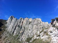 Benicadell - Alicante Spain. I climbed this!