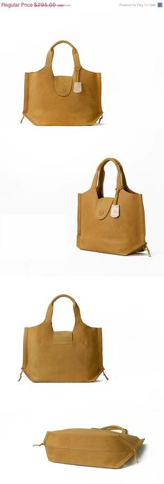 1944fef46d9 Leather Tote BagYellow Extra Large Designer Handbag by KiliDesign, $295.00  Yellow Leather, Leather Design