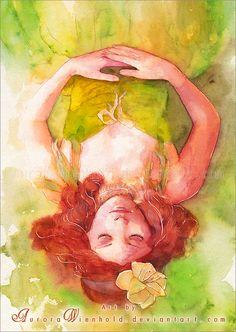 Princess of the forest by AuroraWienhold.deviantart.com on @deviantART