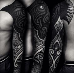 blackwork tattoo - Google Search