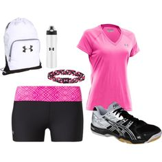 Volleyball Outfit.