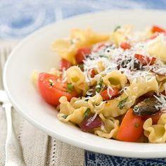 Pasta with Pan-Roasted Vegetables Recipe | Key Ingredient