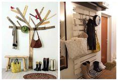 La madera es el aliado perfecto para darle un toque rústico, vintage, shabby-chic, a tu decoración de interiores. ¡Aprende a construir muebles con palets!