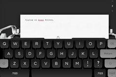 Tom Hanks lança aplicativo q recria no iPad a experiência da máquina de escrever - Blue Bus