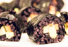 Vegan Workshop: Superfoods | by JuYogi #sushi #blackrice