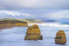 Our final road trip destination: The Twelve Apostles.  #naturalwonder #greatoceanroad  #breathtaking #australia by bonniehennum