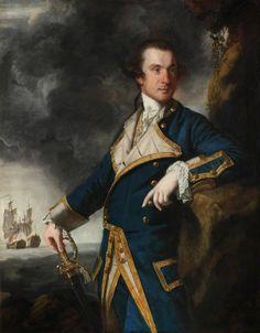 Captain Alexander Hood, 1st Viscount Bridport by Joshua Reynolds, 1763