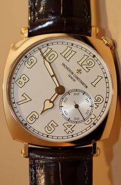 Vacheron Constantin Historiques American 1921 Boutique New York Watch Hands On
