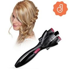Cheap automatic hair curler, Buy Quality hair curler directly from China curling iron Suppliers: Automatic Hair Curler Profesional Hair Curling Fast Styling Knotter Smart Electric Braid Machine Twist Braided Curling Iron Tool Quick Braids, Braids For Short Hair, Twist Braids, Short Hair Styles, Long Hair, Box Braids, Romantic Hairstyles, Twist Hairstyles, Curled Hairstyles