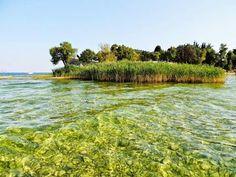 Lido di Manerba, lake Garda, Italy.
