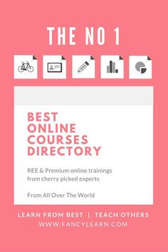 Share your online courses, trainings, freebies, optins and webinars on our website? You have so much tips and advice to offer, you have created so much valuable content now is the time to share. Take your online business and marketing to next level with our free listing, build your list, grow your audience and join the community!