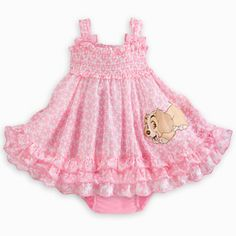 Disney Lady Woven Dress for Baby Baby Girl Items, Cute Baby Girl Outfits, Baby Girl Shoes, My Baby Girl, Baby Baby, Disney Baby Clothes, Cute Baby Clothes, Baby Disney, Baby & Toddler Clothing