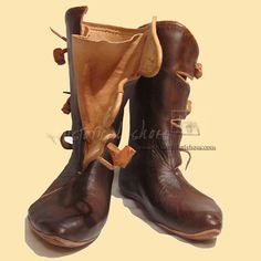Viking boots from NP Historical Shoes