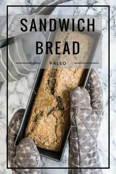 My Favourite Bread (Paleo, Grain-Free, Gluten-Free, Dairy-Free, Refined Sugar-Free). It just stays together properly and is made out of all the good things I can wish. Most importantly it's so easy to make! Developing this recipe took me literally for two years and now I decided to share it with all of you. I hope that it will help some of you who can't eat gluten or are on a paleo diet.