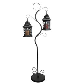 Metal Glass Lantern-51 x 10 x 10 inchesMetal Glass Lantern-51 x 10 x 10 inches,