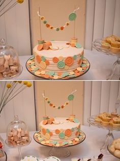cute as a button baby shower!