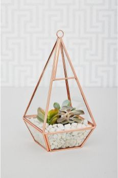 rose-gold-terrarium Want to keep up with the Joneses? Sleek and oh-so on-trend, fill it with your favourite plants and hang by a sunny window. Room Decor Bedroom Rose Gold, Marble Bedroom, Rose Gold Rooms, Rose Gold Decor, Room Ideas Bedroom, Marble Room Decor, Gold Home Accessories, Rose Gold Marble, White Gold