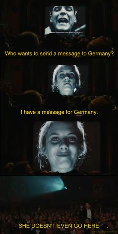 Mean Girls meets Inglorious Basterds