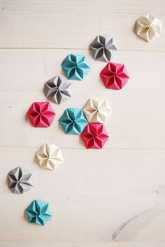 Origami for Everyone – From Beginner to Advanced – DIY Fan Origami Star Box, Origami And Kirigami, Origami Fish, Origami Stars, Origami Paper, 3d Paper, Modular Origami, Origami Folding, Origami Instructions